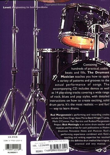 The Drumset Musician - Book with CD