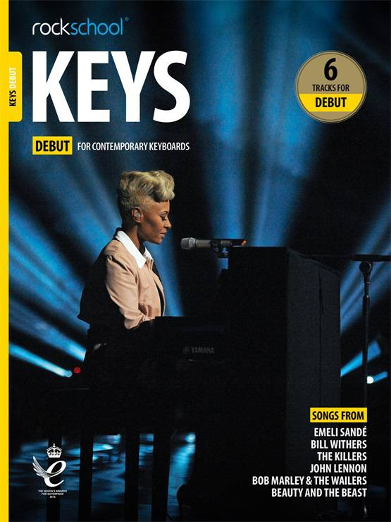 Rockschool Keys - Book Debut (2019) singapore sg