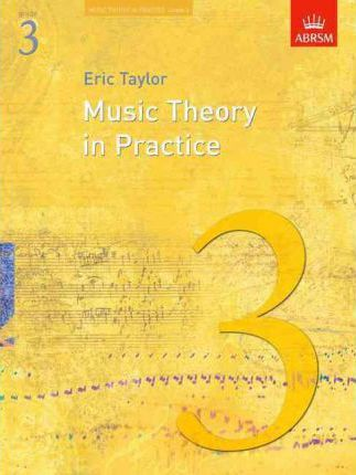Music Theory in Practice by Eric Taylor - Grade 3 Book singapore sg