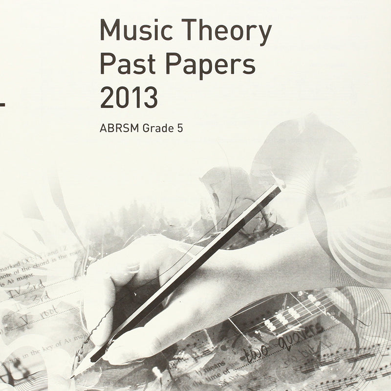 2013 Music Theory Past Papers - Book Grade 5 singapore sg