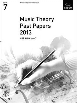 2013 Music Theory Past Papers - Book Grade 7 singapore sg