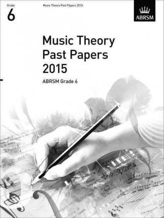 2015 Music Theory Past Papers - Book Grade 6 singapore sg