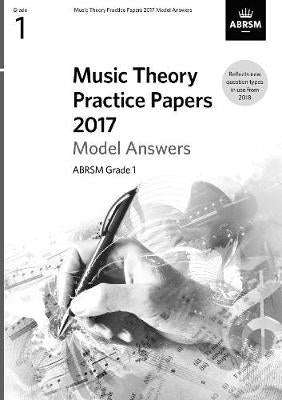 2017 Music Theory Practice Papers model answers book singapore sg