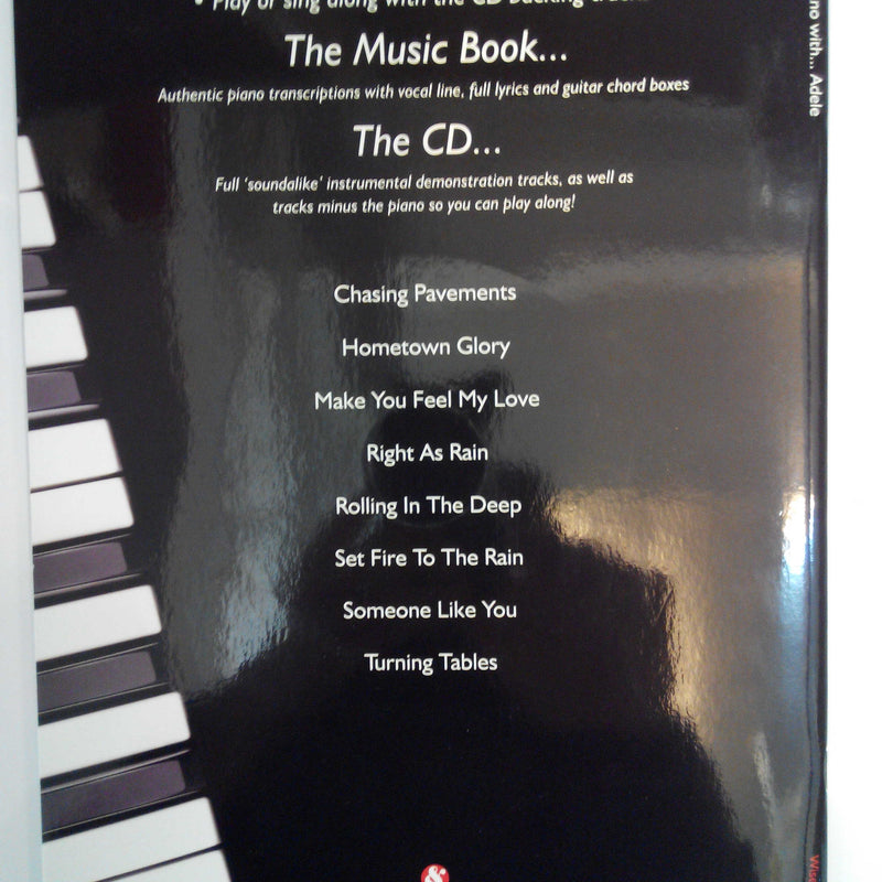 Play Piano with ... Adele (Book with CD)