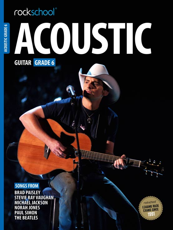 Rockschool Acoustic Guitar - Book Grade 6 singapore sg