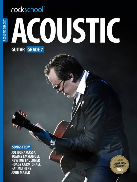Rockschool Acoustic Guitar - Book Grade 7 singapore sg