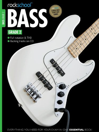 Rockschool Bass Guitar - Grade 2 (2012+) singapore sg