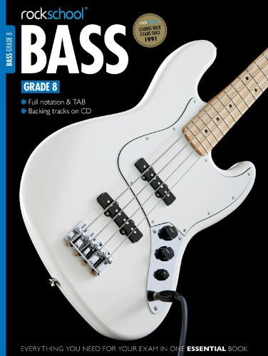 Rockschool Bass Guitar - Grade 8 (2012+) singapore sg