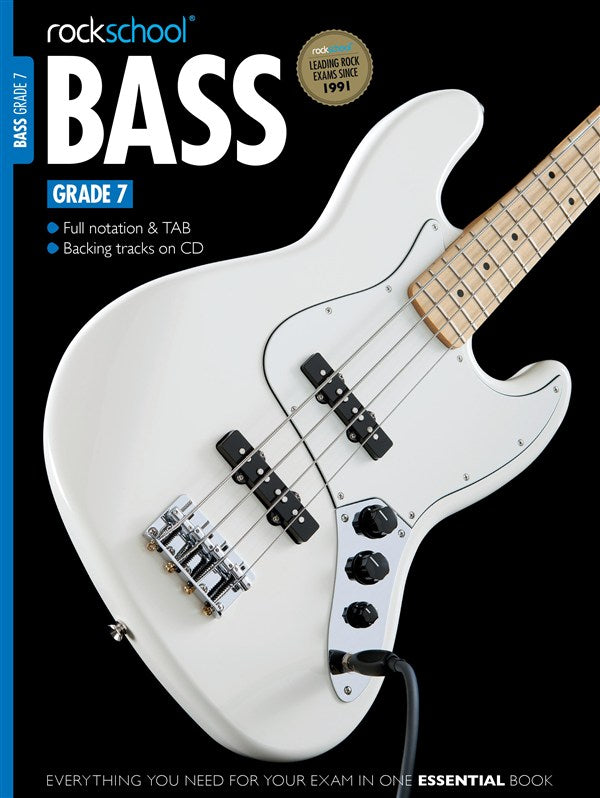 Rockschool Bass Guitar - Grade 7 (2012+) singapore sg