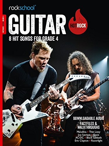 Rockschool Hot Rock Guitar - Book Grade 4 singapore sg
