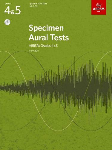 Specimen Aural Tests - Grades 4 & 5 (Book & 2 CDs) singapore sg