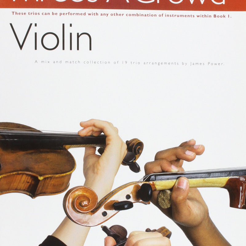 Three's A Crowd - Violin - Book 1 singapore sg