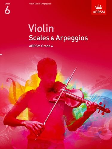 Violin Scales & Arpeggios - Book Grade 6 singapore sg