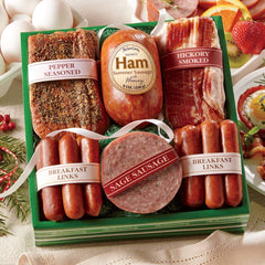 Savory Breakfast Meats from The Swiss Colony