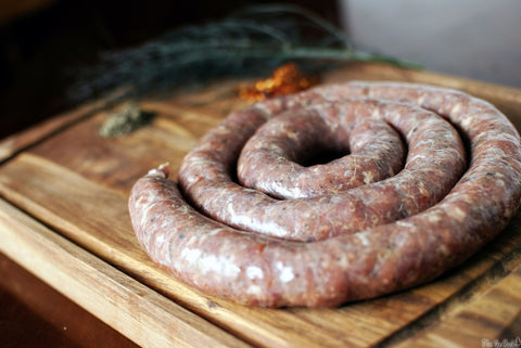 10 LB OF FRESH / LOCAL/ ARTISAN / ALL NATURAL SAUSAGE - PICK UP ONLY