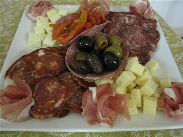 Italian Meat & Cheese Tray - Includes nice re-usable Tray - SALE!!!