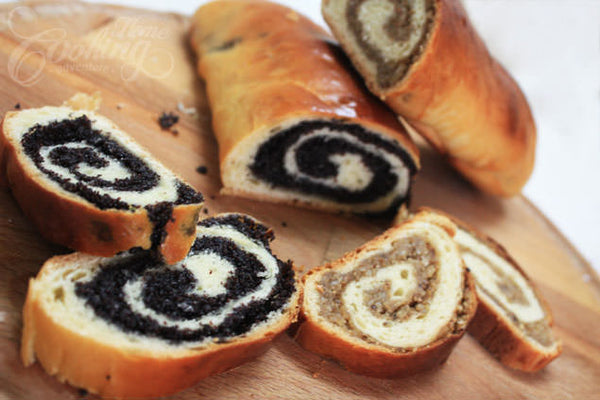Home Made Poppy or Nut Roll (Pick Up_