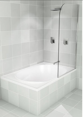 Cascade Bath Screen