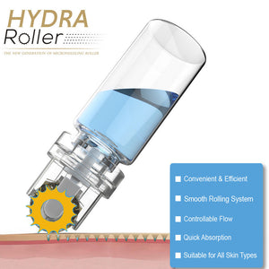 Hydra Roller Microneedle Derma Roller and Serum Applicator - MEDICAL EQUIPMENT