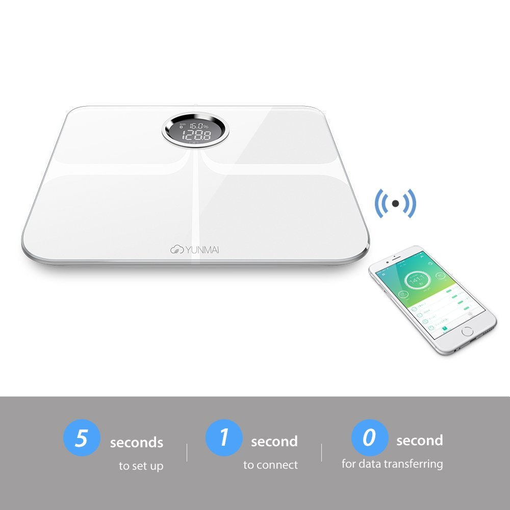 Smart Scale - Body Fat Scale with Fitness APP & Body Composition Monitor - MEDICAL EQUIPMENT