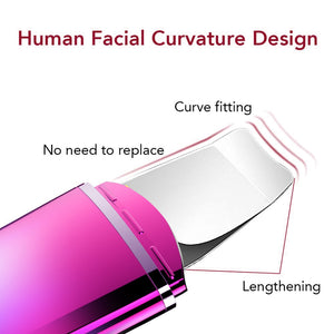 Ultrasonic FACE Cleaner Face Skin Cleanser Remove Blackhead Acne Instrument Beauty Instrument - MEDICAL EQUIPMENT