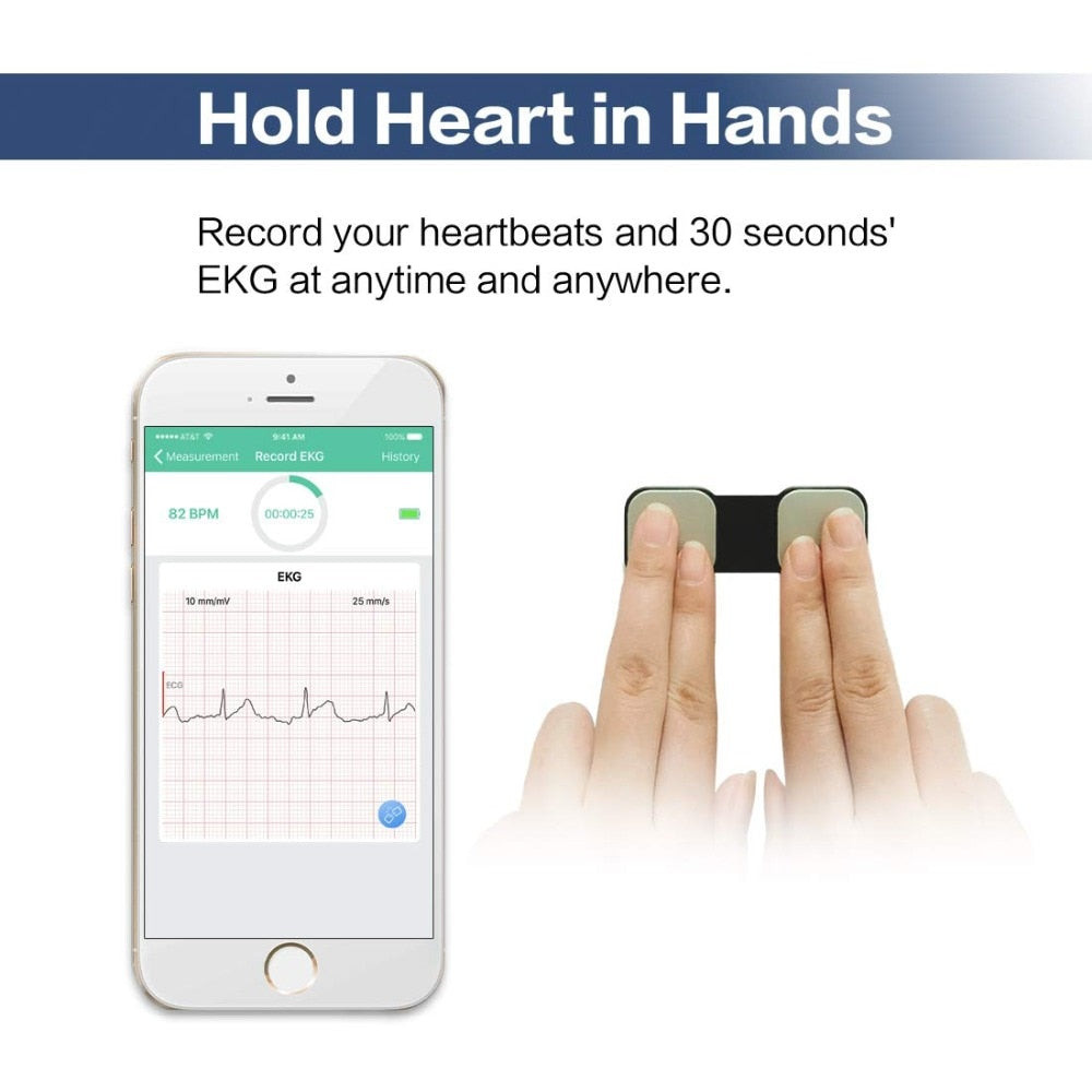 check your heart with Home use  electrocardiogram (ECG) - MEDICAL EQUIPMENT
