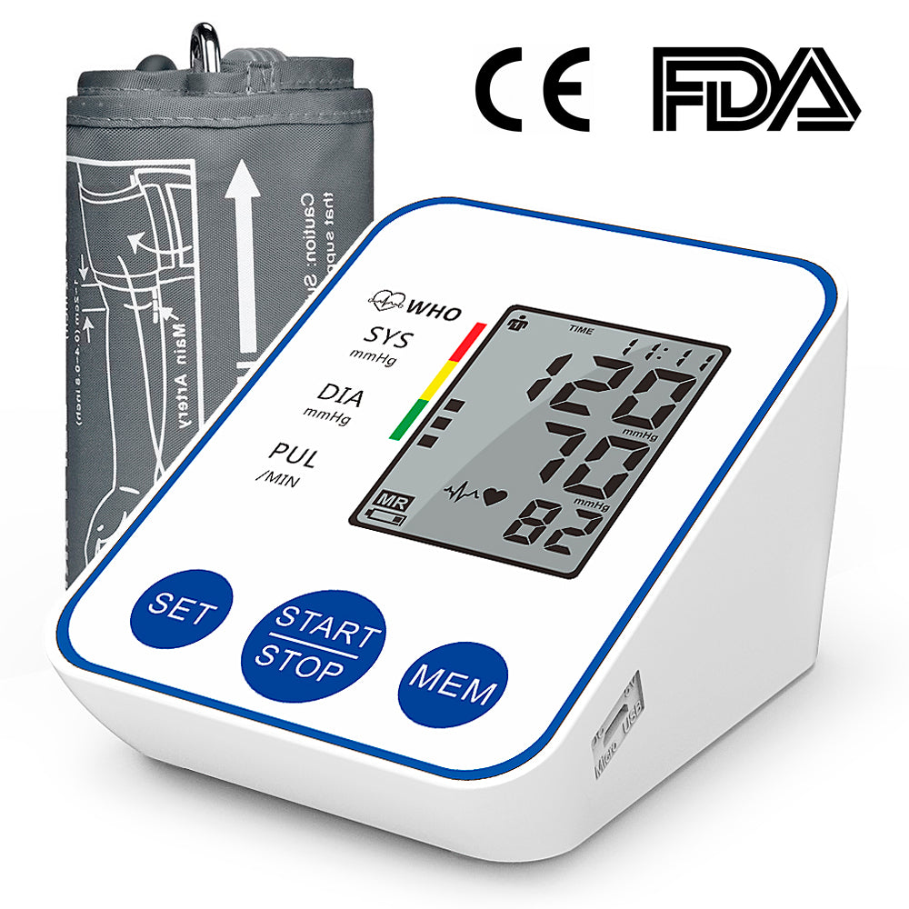 Automatic Blood Pressure Monitor with LCD Display - MEDICAL EQUIPMENT