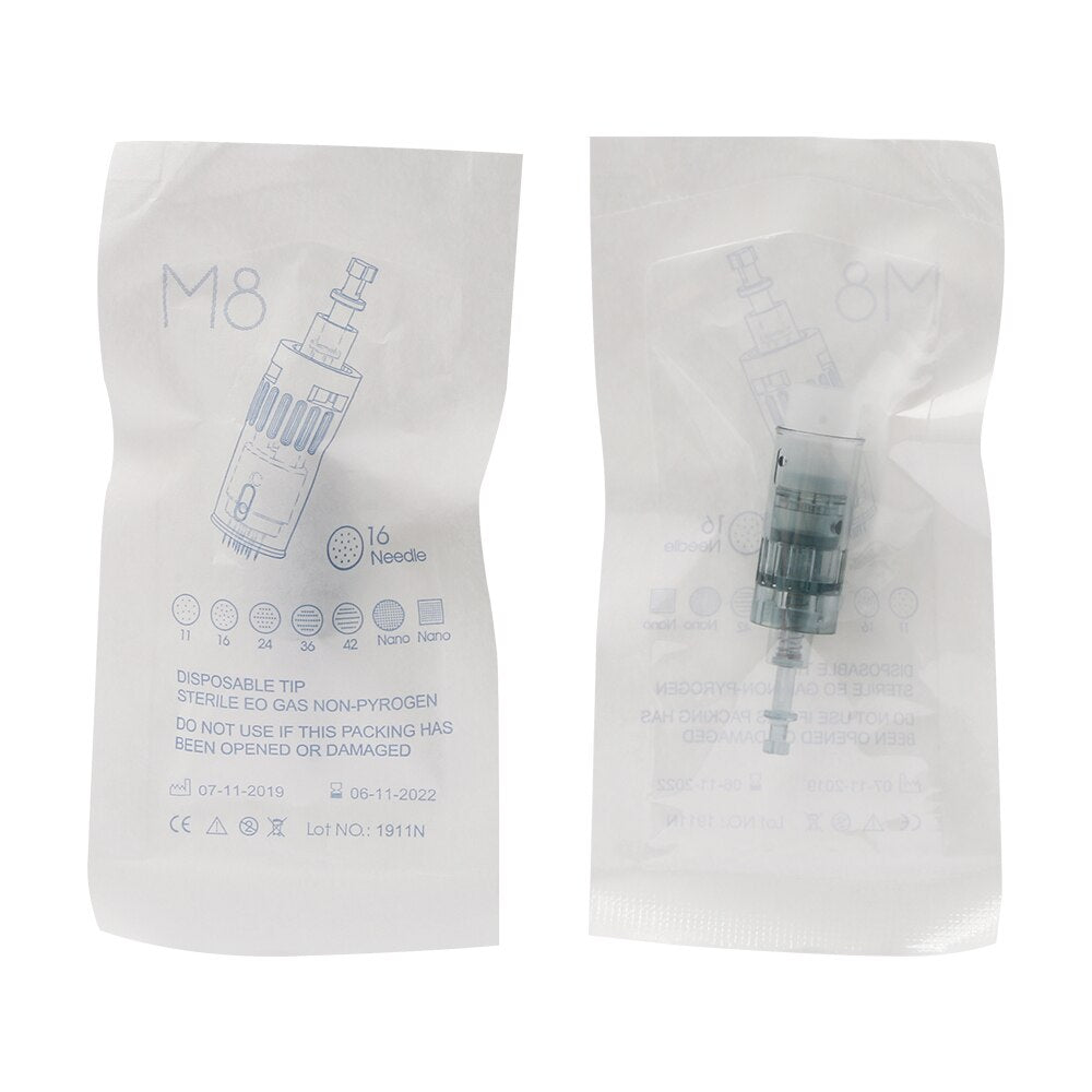 MICRONEEDLES Cartridge Needles Replacement For Derma - MEDICAL EQUIPMENT