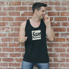 SAN FRANCISCO - Black Tank Top with white graphic