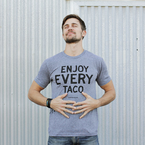 Enjoy Every Taco - Short Sleeve T-shirt for Men