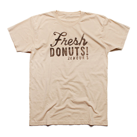 FRESH DONUTS - Short Sleeve T-shirt for Men and Women