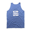 LOS ANGELES - Blue Sleeveless tank top