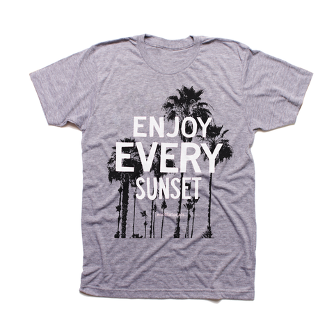 Enjoy Every Sunset - Short Sleeve T-shirt