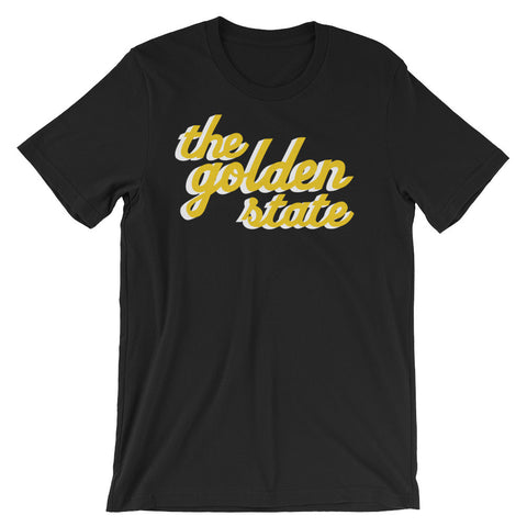 The Golden State - Black Short Sleeve T-shirt