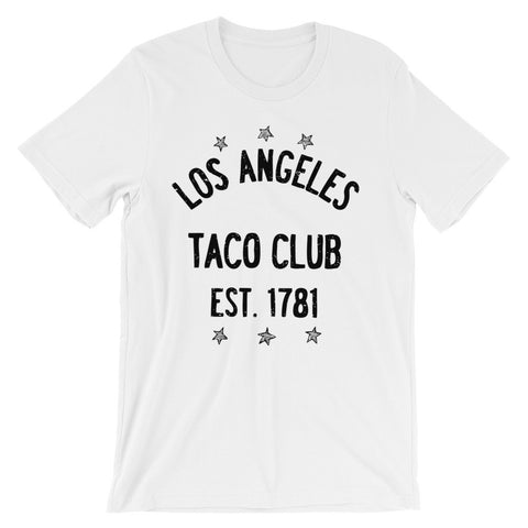 Los Angeles Taco Club - Unisex short sleeve t-shirt