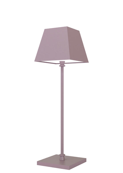 ROMA Lampada Led da tavolo Made in Italy color rosa