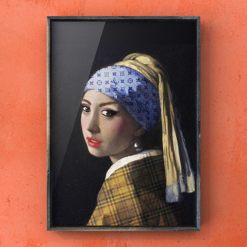 The Modern Girl With a Pearl Earring