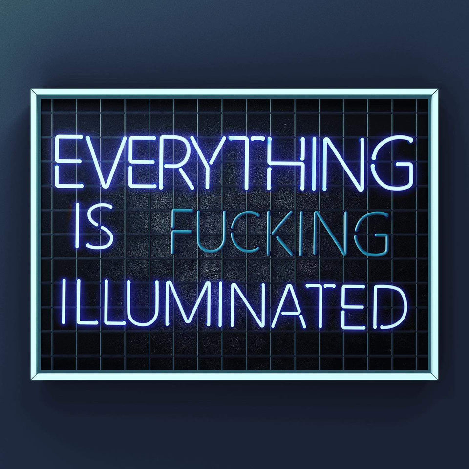 Everything Is Fucking Illuminated Print