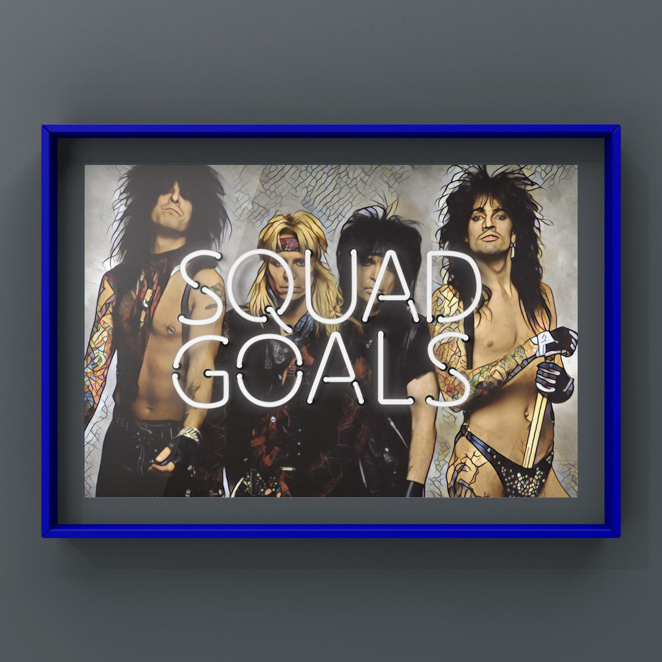 Squad Goals For Him Print