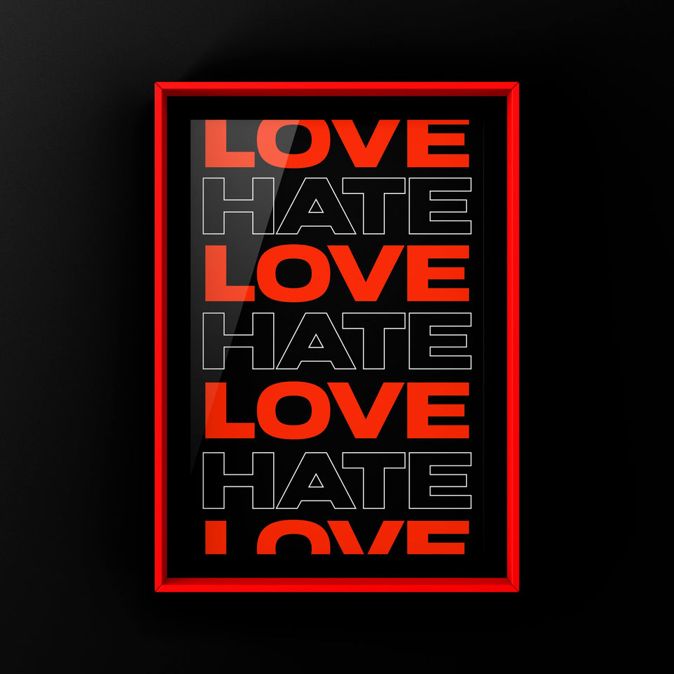 Love/Hate Red