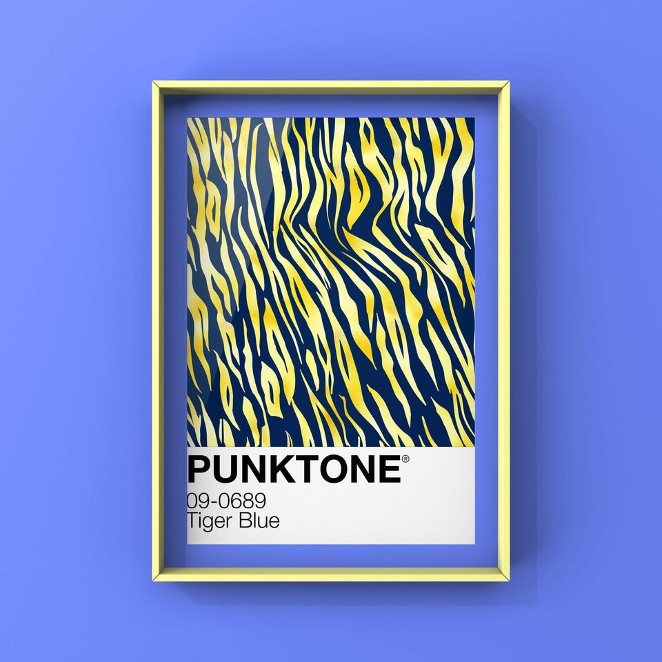 Punktone Tiger Blue