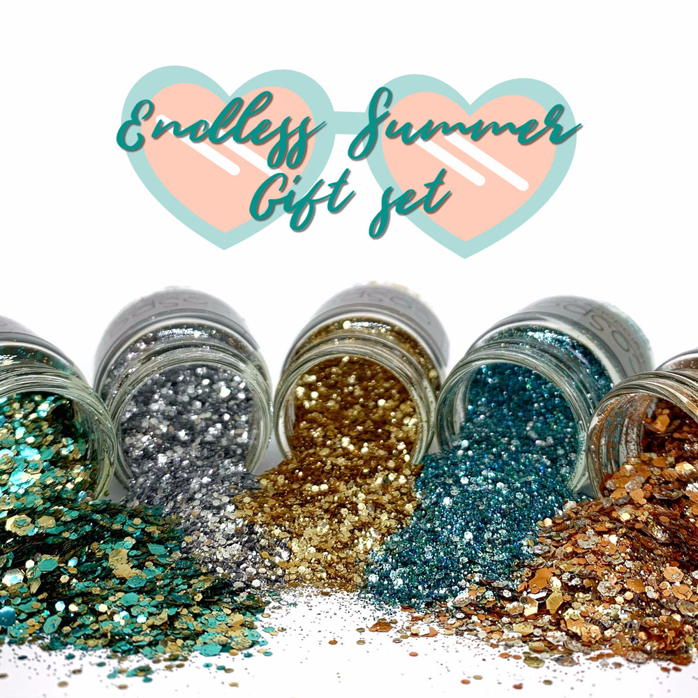 Endless Summer - Glitter giftset