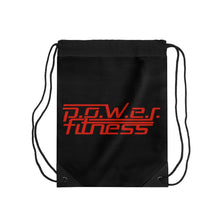 Load image into Gallery viewer, P.O.W.E.R. Fitness Drawstring Bag