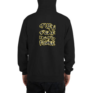 turn fear into P.O.W.E.R. Champion Hoodie