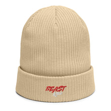 Load image into Gallery viewer, B.E.A.S.T. Kids Organic ribbed beanie hat