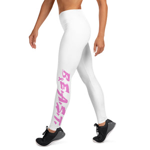 B.E.A.S.T. Breast Cancer Yoga Leggings