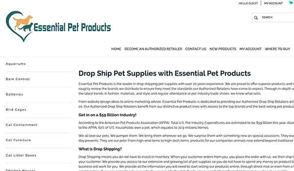 Essential Pet Products