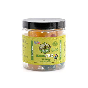 Sun State Hemp 750mg CBD Gummies