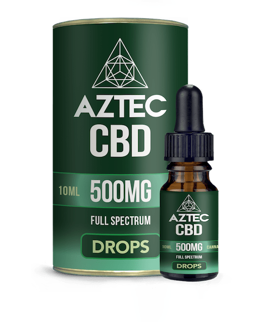 Aztec CBD Drops Hempseed Drops lab tested UK