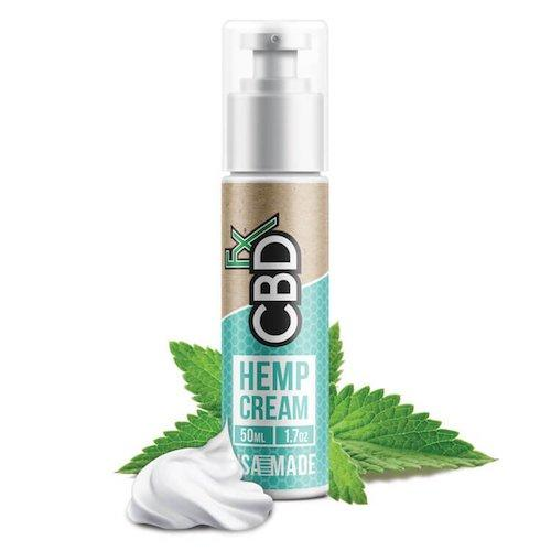 CBD +FX Hemp Cream 100mg + 150mg 30ml